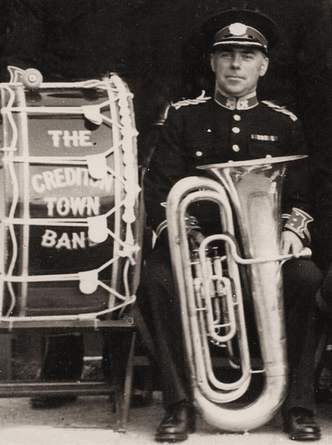 Tuba player and Drum from IBEW website