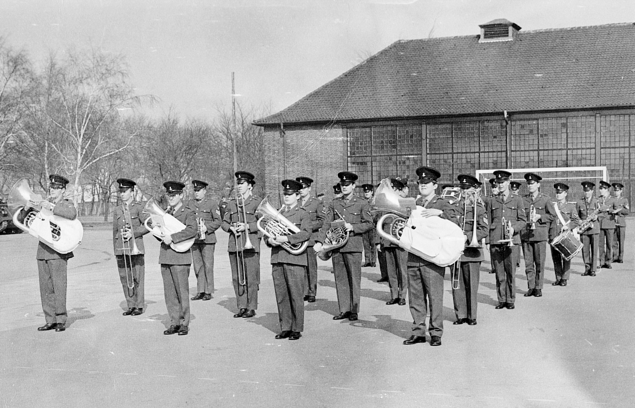Minden Germany  City pictures : ... The Green Howards Band, Elizabeth Barracks, Minden, Germany, 1971